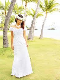 hawaiian themed wedding dresses hawaiian white dress free shipping from hawaii