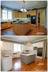kitchen cabinets nashville tn white painted kitchen cabinets before after midl furniture