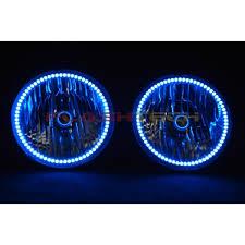 jeep wrangler blue headlights jeep wrangler v 3 fusion color change led halo headlight kit 2007