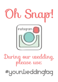wedding instagram instagram wedding sign generator