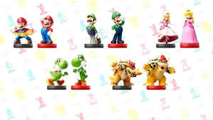 nintendo announces smash bros mario themed amiibo waves