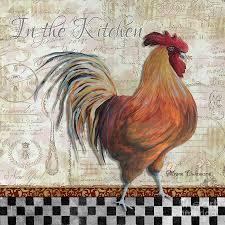 good luck chicken in the kitchen rooster kitchen decor walmart
