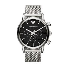 armani watches bracelet images Emporio armani men 39 s stainless steel mesh bracelet watch ernest