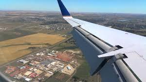 North Dakota travel flights images Landing united flight at dickinson north dakota jpg