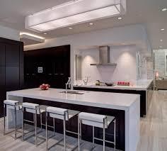 spots led cuisine éclairage de cuisine 45 idées suspensions ou spots à choisir