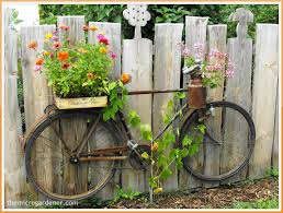 34 easy and cheap diy garden pots you never thought of bike