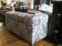 Upholstered Storage Ottoman Coffee Table Furniture Amazing Upholstered Storage Ottoman Ottoman Ikea Pouf