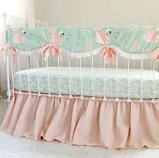 the danika collection silk and lace crib bedding by hugbugbedding