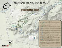Map Alabama Dirty Spokes Coldwater Mountain