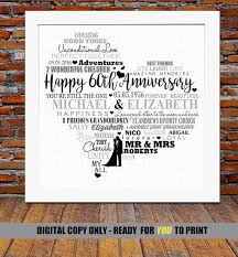 60th anniversary gift the 25 best diamond wedding anniversary gifts ideas on