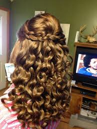homecoming hair braids instructions curly hairstyles for prom half up half down twist 2015 step by