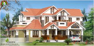 2500 square feet kerala traditional style house elevation