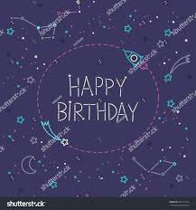 happy birthday card adventure time style stock vector 242113774