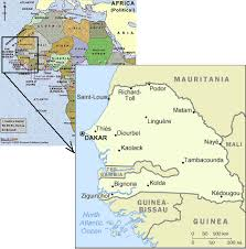 africa map gambia home page