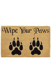 Wipe Your Paws Mat Decorative Nemesis Now Gothic Wipe Your Paws Doormat