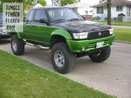 toyota pickup toyota pickup jungle fender flares