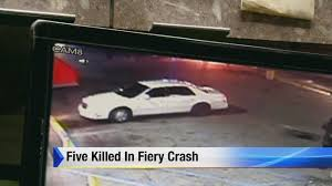 5 teens killed in fiery crash on detroit u0027s east side