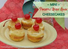 mini pineapple upside down cheesecakes mycuprunnethoverblog