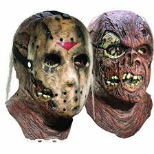 Jason Halloween Mask by Rubies Costume Jason Dlx Overhead Latex Hockey Mask Cover