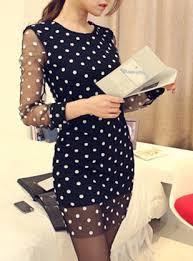 black dress with white dots black dress pants
