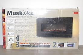 Muskoka Electric Fireplace Muskoka Beale Electric Fireplace Reviews Fire