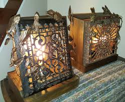 glow of history repurposed antique cast iron heating grate