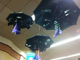 halloween umbrella witch legs holiday decorations pinterest
