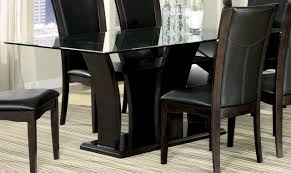 homelegance daisy rectangular dining table in espresso 710 72 by