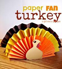 paper crafts monday turkey in preschool 2014 thanksgiving