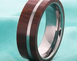 wood inlay wedding band mens tungsten wood inlay wedding ring tungsten wedding band mens