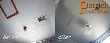 Asbestos Popcorn Ceiling by Removing Popcorn Ceiling Easily Change The Look Of Your Home