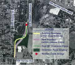 Map Roseburg Oregon by Roseburg To Close Stewart Parkway For 3 Months City Nrtoday Com