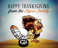 philadelphia flyers on happy thanksgiving to the best
