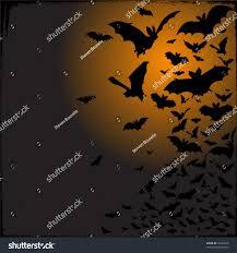 vintage halloween tile background bats full halloween moon stock vector 16953526 shutterstock