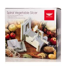 paderno cuisine spiral vegetable slicer paderno tri blade spiralizer vegetable slicer plastic azure