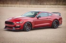 Red And Black Mustang Gt Confirmed 2017 Shelby Gt350 Mustang Gains More Standard Equipment