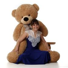 teddy bears shaggy cuddles 60 size teddy teddy bears