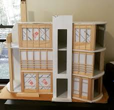 modern dollhouse diy