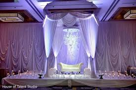 indian wedding decorators in nj princeton nj indian wedding by house of talent studio maharani