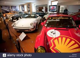 porsche gmund porsche car museum gmuend porsche 911 rsr race car helmut stock