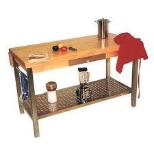 Kitchen Island Work Table John Boos Cucg10 Kitchen Island Work Table W Stainless Steel