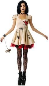 Broken Doll Halloween Costume Womens Voodoo Doll Costume Halloween Voodoo Dolls