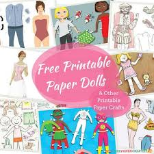 printable paper dolls 32 free printable paper dolls and other printable paper crafts