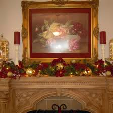 Elegant Christmas Decorating Ideas by Ideas Feasible Christmas Themed Fireplace Mantel Decorating