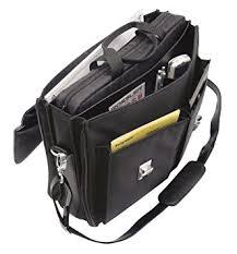 sacoche bureau wedo elegance 0585301 serviette porte documents à bandoulière avec