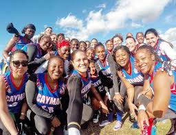 Flag Football Leagues Cayman Women Triumph In Us Flag Football League Tournament