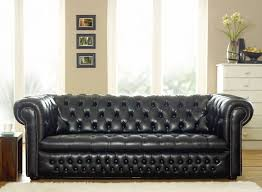 Chesterfield Black Sofa 15 Best Ideas Of Black Chesterfield Sofa
