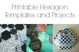 winter snowflake hexagon quilt tutorial