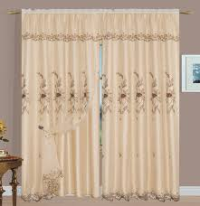 Sheer Embroidered Curtains Margot Sheer Embroidery Panel U2013 Beige U2013 Luxury Home Textiles