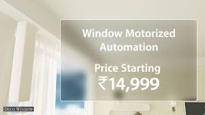 automatic curtain track system by deco window youtube